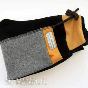 dres ubranka czarne patch pants spodnie 104 - 152 cm