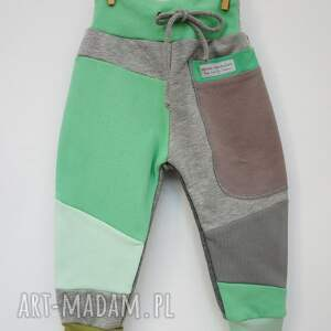 bawełniane spodnie patch pants 110 - 152