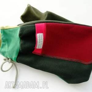 niepowtarzalne ubranka ciepłe-spodnie patch pants spodnie 74 - 104 cm