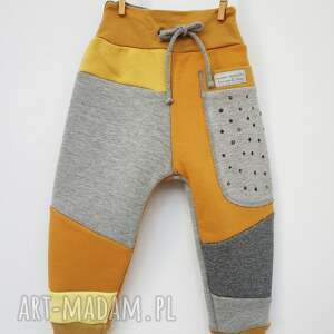ciepłe spodnie patch pants 74 - 104 cm