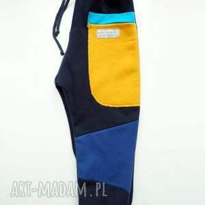 handmade ubranka ciepłe-spodnie patch pants spodnie 110 - 152 cm