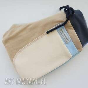 turkusowe ubranka ciepłe-spodnie patch pants spodnie 74 - 98 cm krem