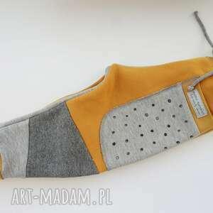 ręcznie wykonane dres dla dziecka patch pants spodnie 74 - 104