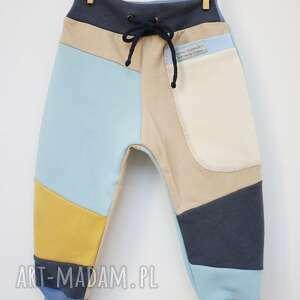 niesztampowe ubranka dres patch pants spodnie 104 - 152 cm