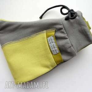 frapujące ubranka eco patch pants spodnie 74 - 98 cm