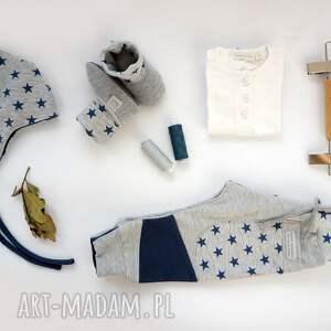 niebieskie patch pants spodnie 110 - 152