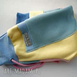 nietypowe ubranka recykling patch pants spodnie 74 - 98 cm