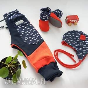 oryginalne kolorowe spodnie patch pants 74 - 104