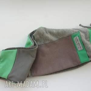 zielone patch pants spodnie 110 - 152
