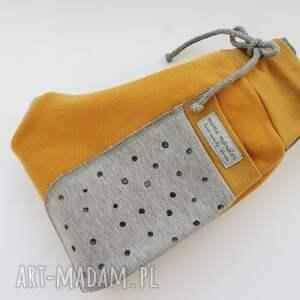 żółte dres dla dziecka patch pants spodnie 74 - 104 cm