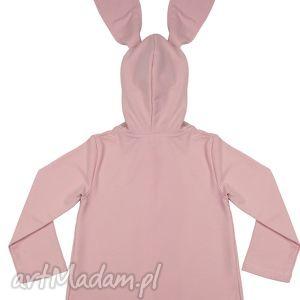 różowe ubranka płaszczyk płaszczyk/bluza różowa a