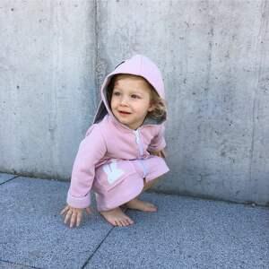bluza ubranka płaszczyk/bluza różowa a kuku