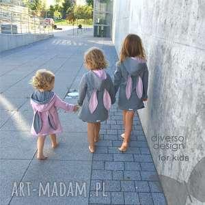 intrygujące ubranka bluza płaszczyk/bluza różowa a
