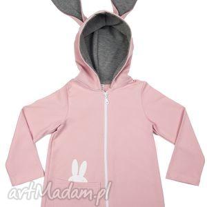 intrygujące ubranka płaszczyk płaszczyk/bluza różowa a