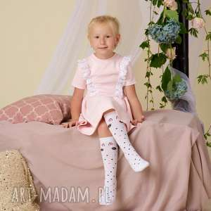 ręcznie wykonane ubranka jednorożec podkolanówki dziecięce
