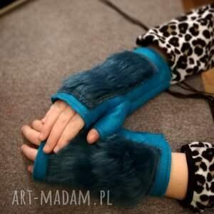 gustowne rękawiczki nowe, ciekawe dla dziewczynki