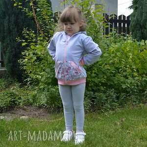bluza z-kapturem fioletowe safari z kapturem