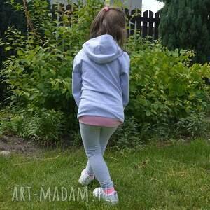 ciekawe bluza z-kapturem wygodna, elastyczna wykonana z dresowej