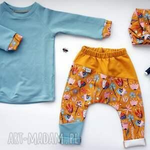 urokliwe spodnie do szkoły spodenki dla dziewczynki lato 104