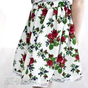 ręcznie zrobione spódnica góralska, spódniczka