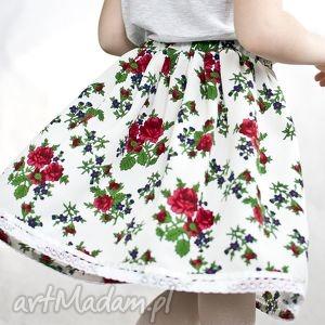 czerwone spódniczka spódnica góralska