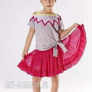 czerwone ubranka spódniczka ds04a
