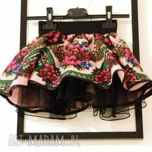 różowe ubranka spódniczka folkowa cleo góralska 1