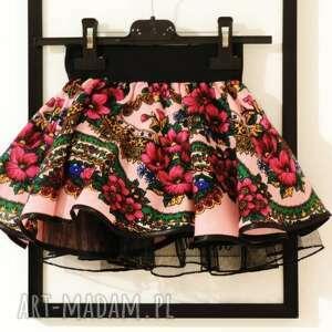 awangardowe ubranka spódniczka folkowa cleo góralska 1