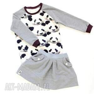 ubranka spódnica spódniczka medium grey