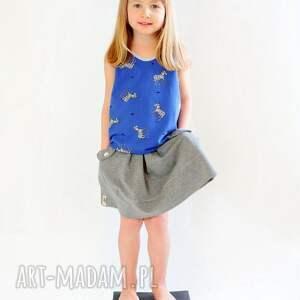 hand-made ubranka spódnica spódniczka różowy piasek
