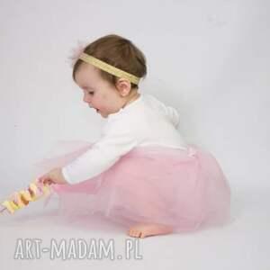 różowe ubranka spódniczka tiulowa - little