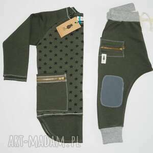 ubranka spodnie baggy bojówki