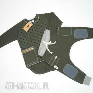 hand-made ubranka baggy spodnie bojówki