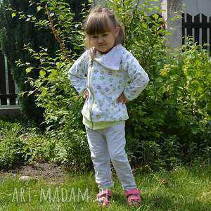 szare dla dziewczynki spodnie dla , sowy