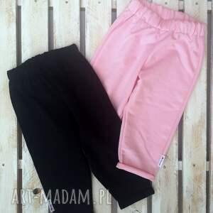 spodniedresowe różowe spodnie dresowe ilovemama