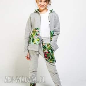 spodnie do szkoły dresowe dziecięce jungle