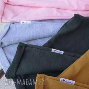 bawełniane spodnie dresowe ilovemama