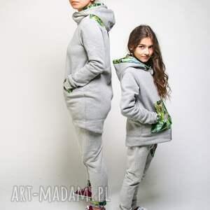 spodnie-do-szkoły ubranka spodnie dresowe dziecięce jungle