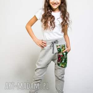 ubranka spodnie-do-szkoły spodnie dresowe dziecięce jungle