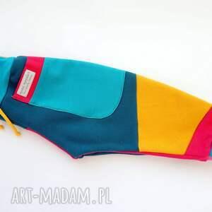 bawełniany dres spodnie dziecięce patch pants