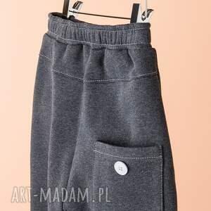 szare ubranka spodnie chsp08g