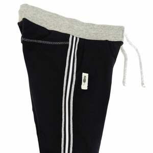 ubranka joggery spodnie z lampasami black
