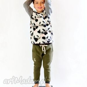 ubranka baggy spodnie khaki