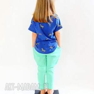 ubranka spodnie w stylu jogger mięta