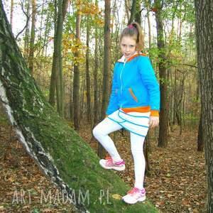 turkusowe tenis sportowa spódniczka z izolującego