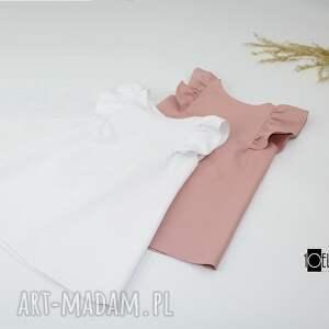 niepowtarzalne ubranka fslbanka sukieneczki bez rekawkow