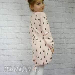 bawełna ubranka kolorowe sukienka dla dziewczynki 86-98
