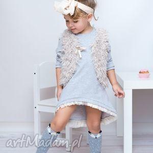 ubranka sukienka dla dziewczynki 122-128