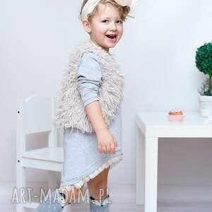 unikalne ubranka bawełna sukienka dla dziewczynki 104-116