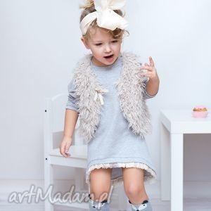 prezent ubranka sukienka dla dziewczynki 122-128